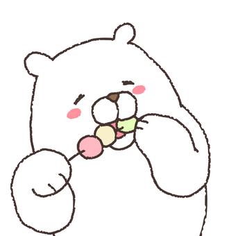 삼색 경단 우마 ~