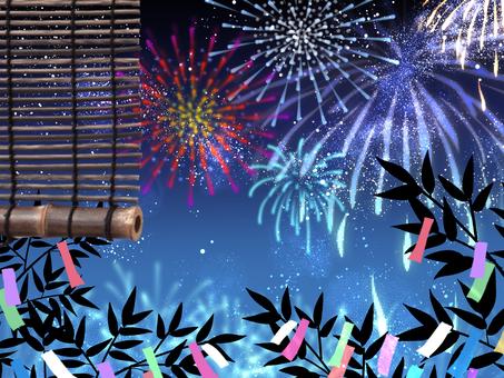 Tanabata and Fireworks 2