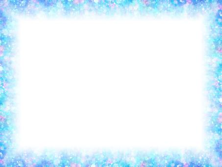 Mixing dot 93 (blue frame)