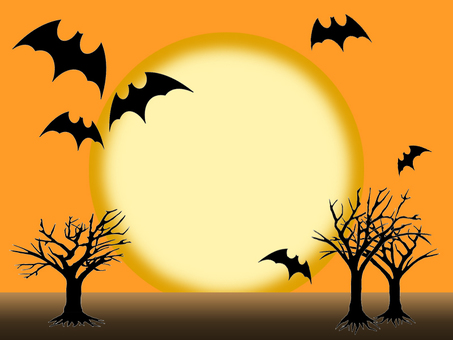 Halloween background moon png