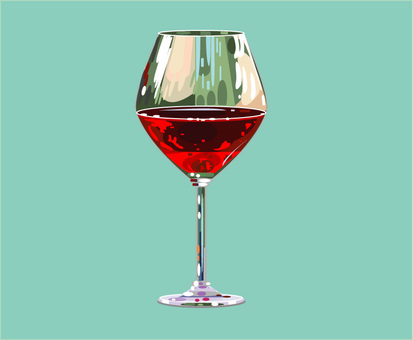 Wine red green background