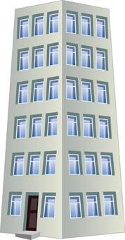 Apartment mansion building