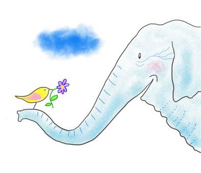 小鳥和大象