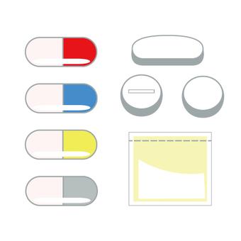 Various set of medicine