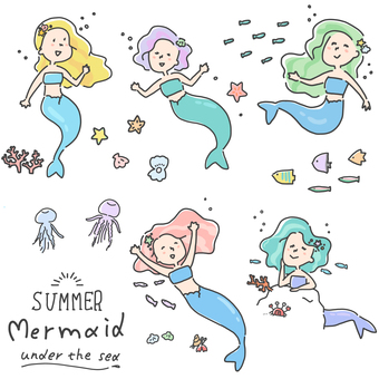 Mermaid sea