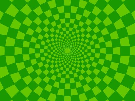 Checkered (green)