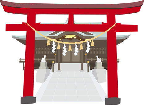 Torii shrine