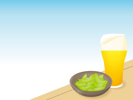 Beer and Edamame 02