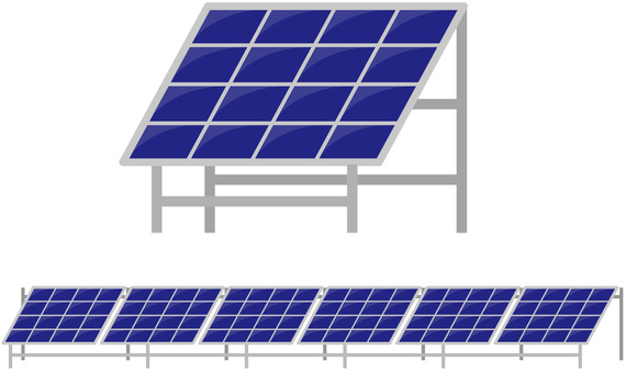 Solar power generation, solar panel, solar power generation