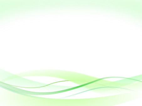 Wave and curved background material Green green series ver 2