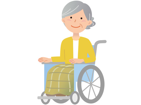 60120. Female wheelchair, one person