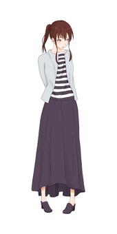 Pattern ② Female 12 (20's)