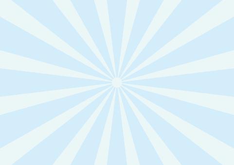 Pastel radiation blue