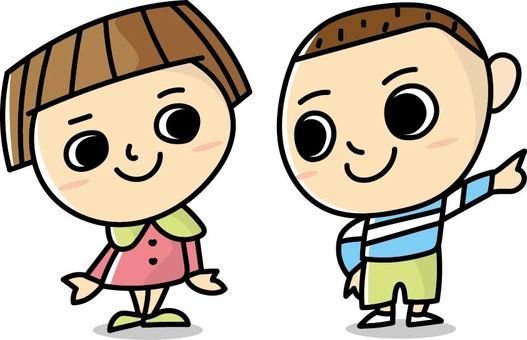 Kids Character - Pair - 13