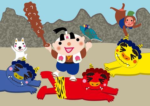 Japanese Famous Story _ Momotaro 2