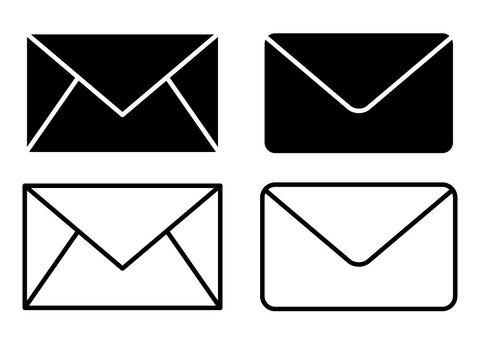Mail · Monochrome icon