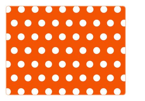 Polka dot (Orange)