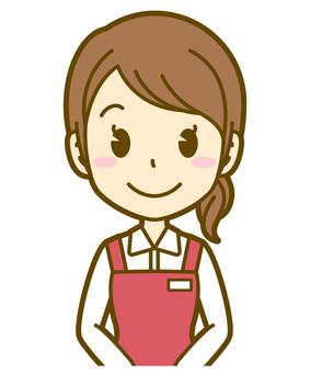 여자 (사무원) : B_standby 03BS