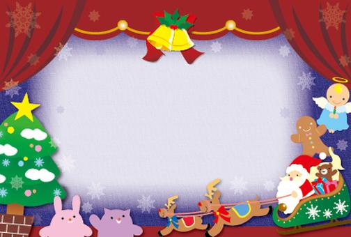 크리스마스 메세지 카드