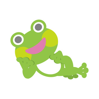 Frog (lying down)