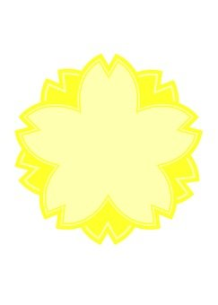 Sakura's mark (yellow)