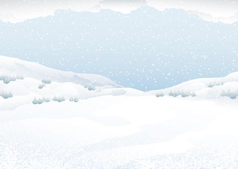Snowy background background illustration