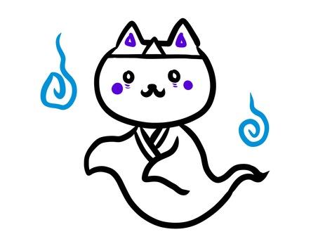 White cat series Ghost