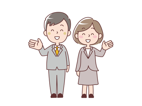 Men and women in suits_Information