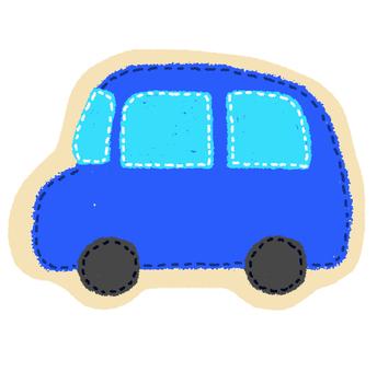 Car badge style flake seal