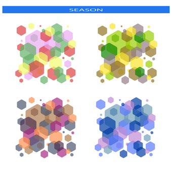 Seasonal color - Hexagon set