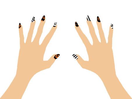 Hand nail 4