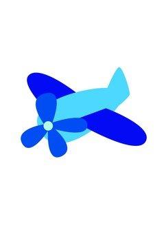 비행기 (블루)