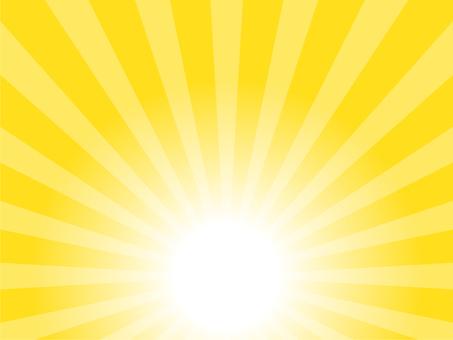 Sunrise image · orange