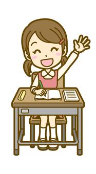 Girls (children): A_ lesson 03FS