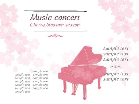 Piano Sakura Side