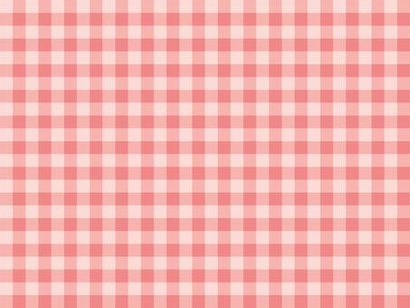 핑크 체크