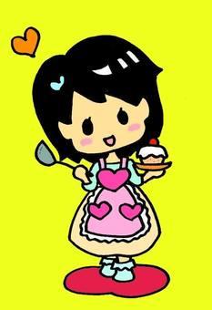 Cute wife (Yellow)