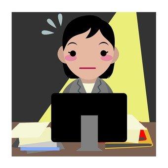 Female employees overtime