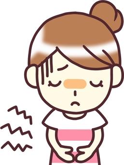 [Female PW t under] _ abdominal pain 2