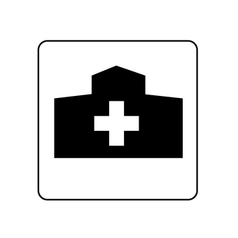 Guide map Hospital