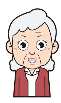 奶奶(說話)
