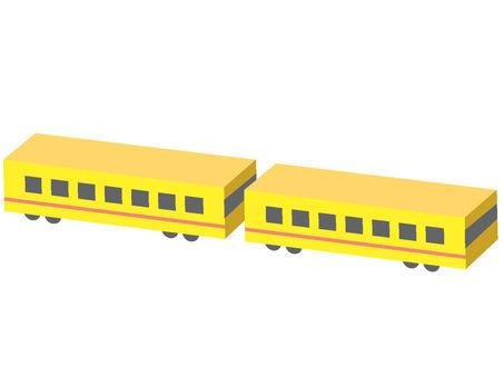 Train two-car train