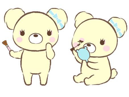 Makeup Bear