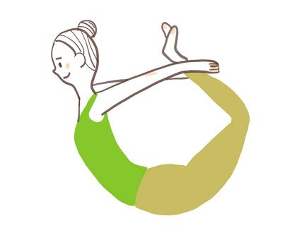 Yoga woman 05