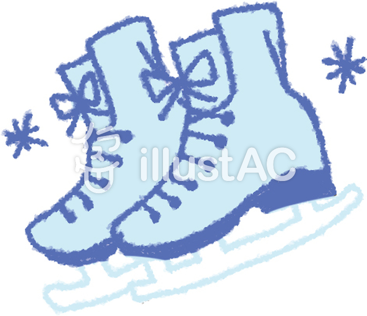スケート靴イラスト , No 323768/無料イラストなら「イラストAC」