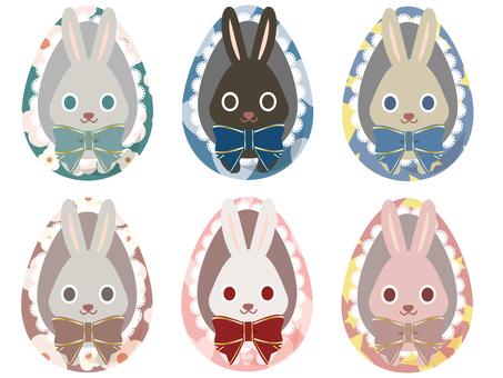 Easter 012 (rabbit 06, egg)
