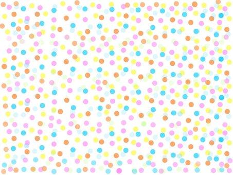 Polka dot pattern ①