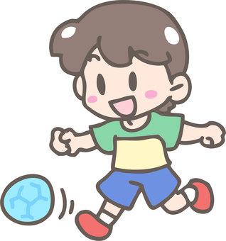 Ball play (kick)