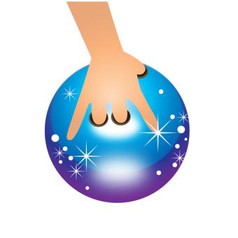 Bowling ball - 124