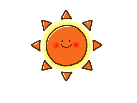 (Weather) sunny